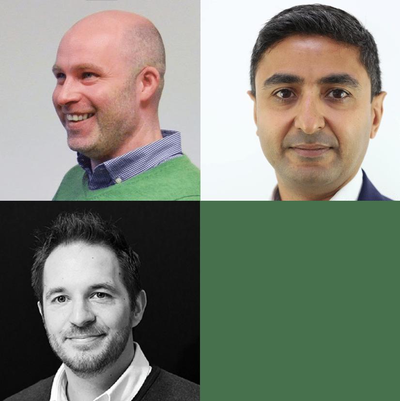 Simon Hedaux, Anish Patel, Michael Grange